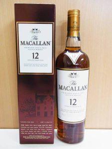 マッカラン12年買取しました。
