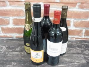 札幌市手稲区のお客様からシャトーラグランジュなどワイン5本お買取りしました