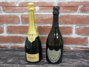 シャンパン、クリュッグを札幌市中央区のお客様からお買取りしました。